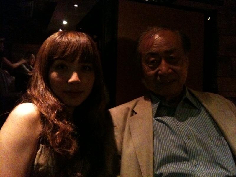 松本茜と岩浪洋三先生
