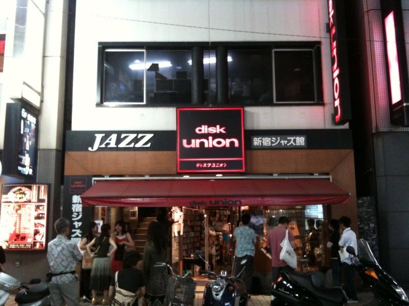西藤ヒロノブ@新宿disk union