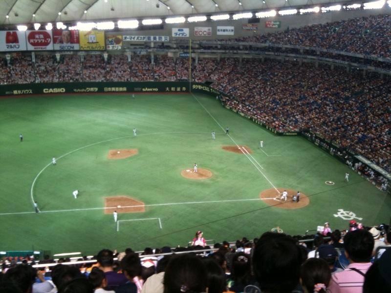 久々の野球観戦@東京ドーム