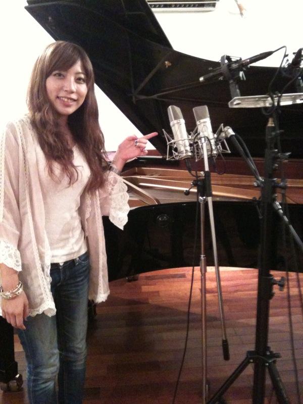 松本茜のiJazz vol.8レコーディング