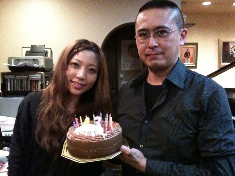 ベーシスト、山下弘治さんのお誕生日!