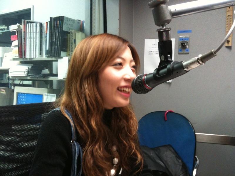 ラジオ・ゲストに松本茜さん