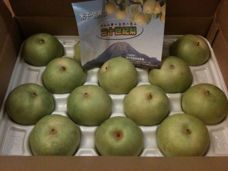 梨の季節ですね!