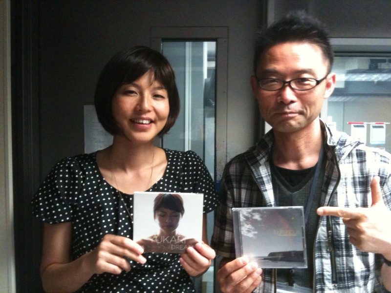 Yukariさん、来日ラジオ出演!