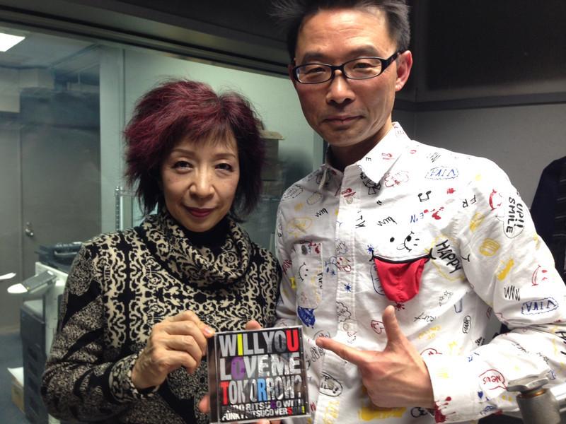 ラジオゲスト、遠藤律子さん