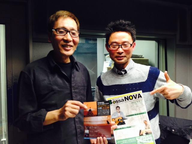 ラジオゲスト : 中村善郎さん