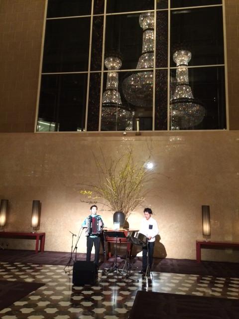 ライブ@ハイアットリージェンシーホテル東京
