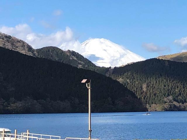 九頭龍神社と芦ノ湖